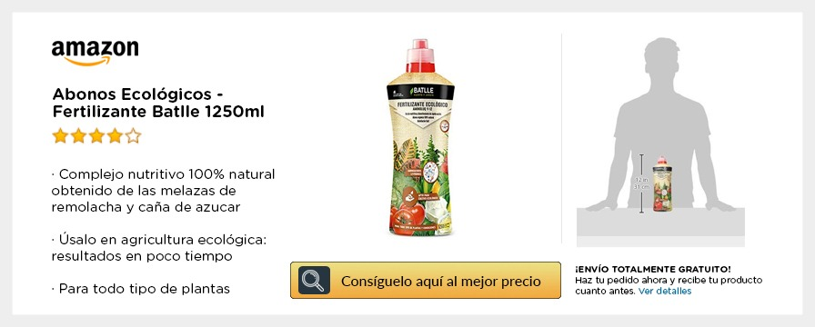 Abono ecologico Battle amazon