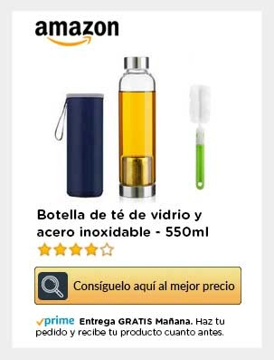 Botella vidrio amazon para movil