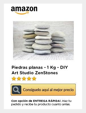 Piedras planas amazon movil