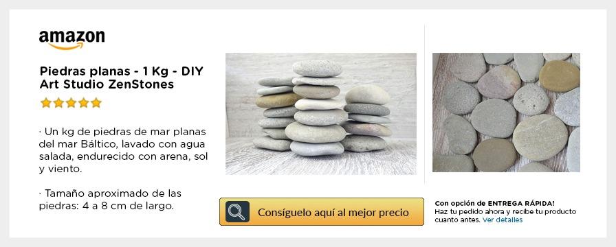 Piedras varias formas en Amazon