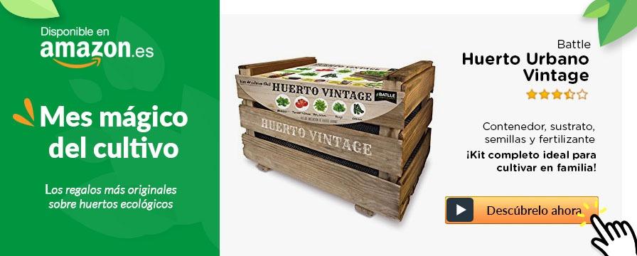 huerto urbano vintage
