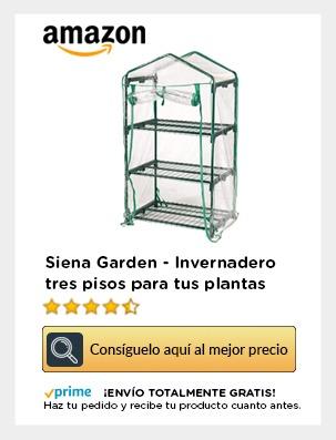 invernadero de tres pisos transparente