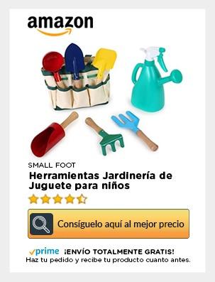 kit herramientas jardín niños