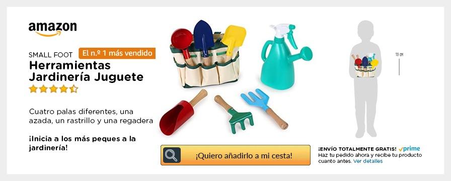 kit jardinería para niños